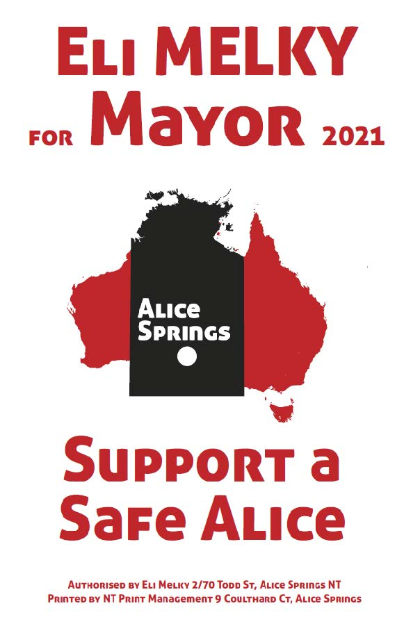 Support a safe Alice Springs